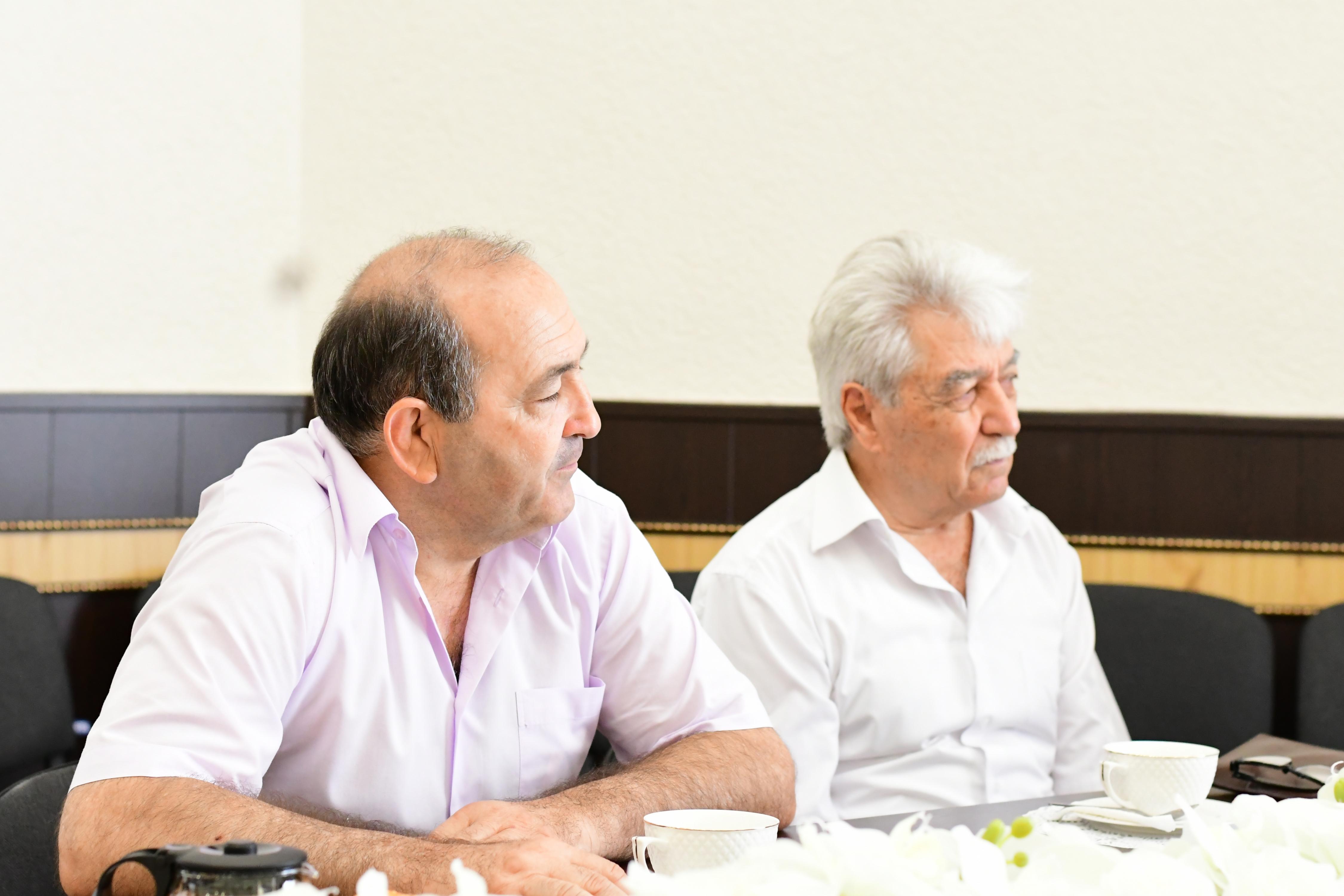 В АРИГИ прошла встреча посвященная Дню репатрианта
